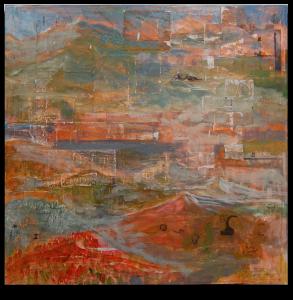 Orange Peaks by Don Olsen